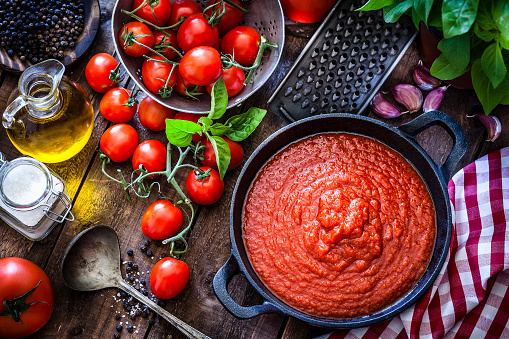 Fine Dining「Tomato sauce」:スマホ壁紙(19)