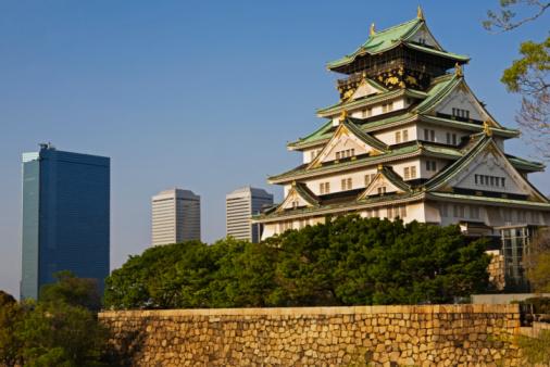 Castle「 Osaka Castle view」:スマホ壁紙(6)