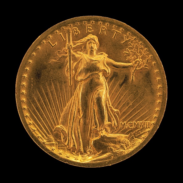 Model - Object「Double Eagle Twenty Dollar Gold Piece [Obverse]」:写真・画像(5)[壁紙.com]