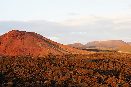 Volcano Islands「Spain, Canary islands, Lanzarote, Natural Park of Volcano (Parque Natural de los Volcanes)」:スマホ壁紙(8)