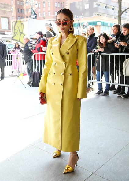 Leather「Street Style - Day 3 - New York Fashion Week February 2020」:写真・画像(15)[壁紙.com]
