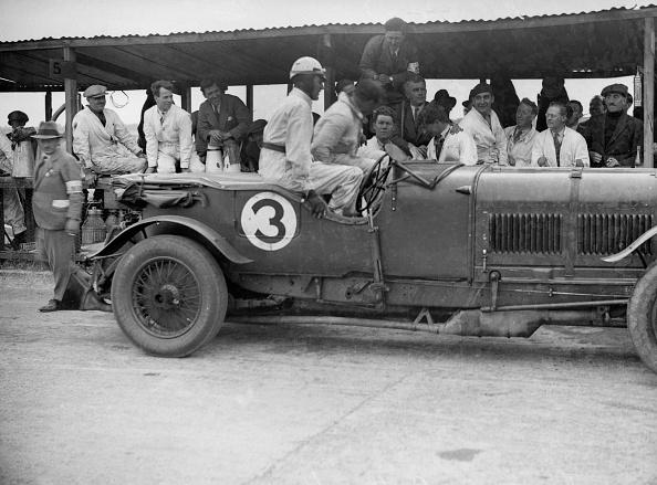 Bentley「Winning Bentley of Jack Dunfee and Woolf Barnato, BARC 6-Hour Race, Brooklands, Surrey, 1929,」:写真・画像(8)[壁紙.com]