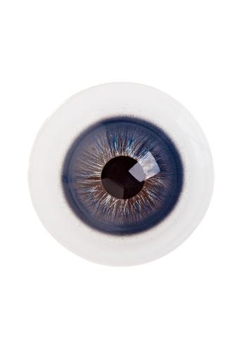 Iris - Eye「Single Blue Eyeball」:スマホ壁紙(7)