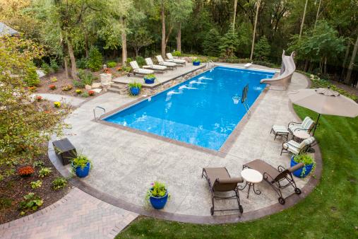 Stone Material「Backyard Swimming Pool」:スマホ壁紙(11)