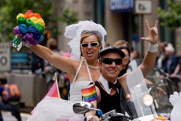 David Paul Morris「San Francisco Celebrates Gay Pride With Annual Parade」:写真・画像(2)[壁紙.com]