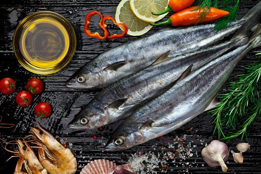 Shrimp - Seafood「Raw mackerel」:スマホ壁紙(12)