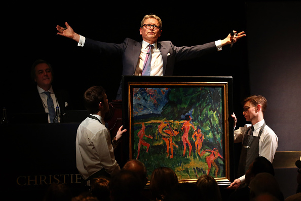 Auction「Christies Hold Multi Million Pound Art Sale」:写真・画像(17)[壁紙.com]