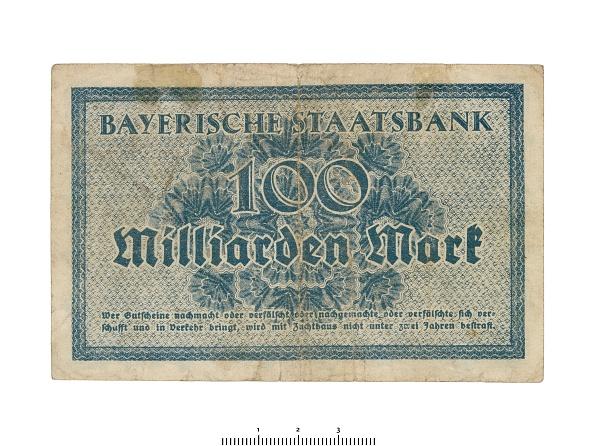 Number 100「German Banknote (Bavaria)」:写真・画像(1)[壁紙.com]