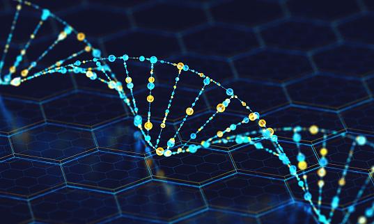 Hexagon「Digital DNA」:スマホ壁紙(16)