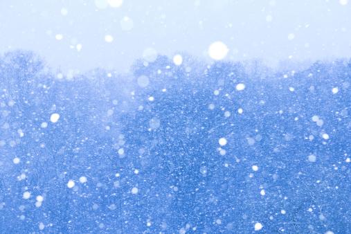 雪「Snowstorm」:スマホ壁紙(9)
