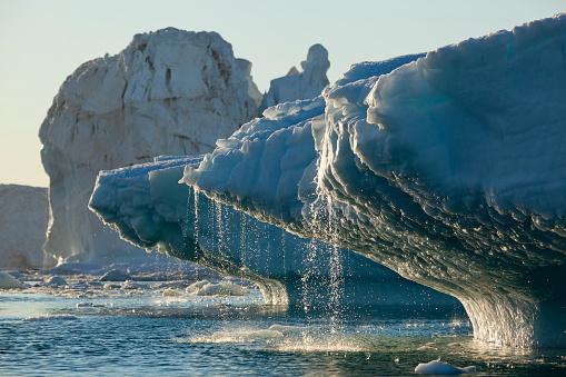 Greenland「Iceberg melting in Disko Bay in Greenland」:スマホ壁紙(6)