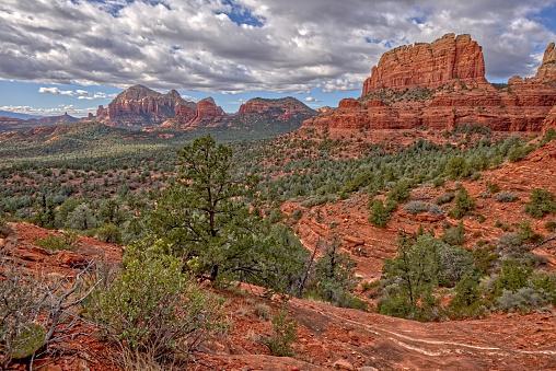 Sedona「Mormon Canyon view from Steamboat Rock, Sedona, Arizona, United States」:スマホ壁紙(8)
