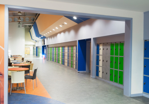 Locker「Modern secondary school」:スマホ壁紙(15)