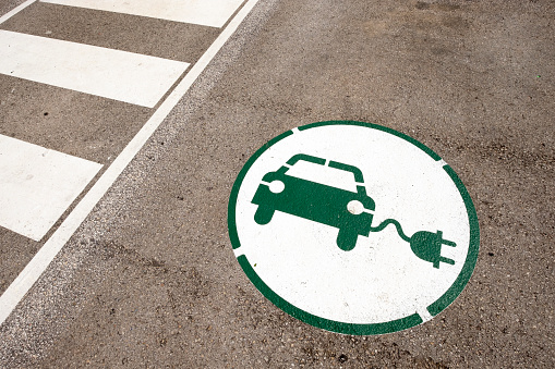 City Life「Electric car」:スマホ壁紙(12)