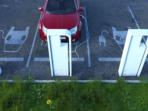Cable「Electric Car Charging」:スマホ壁紙(5)