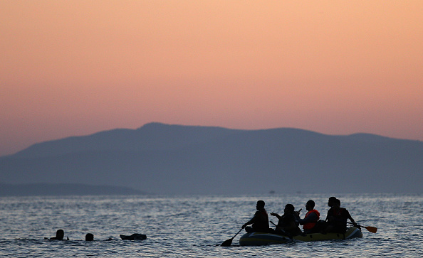 Mediterranean Sea「Migrants Arrive On The Beaches Of Kos In Greece」:写真・画像(9)[壁紙.com]