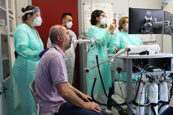 Recovery「Italy's Coronavirus Rehab Centre Tackling It's Lingering Effects」:写真・画像(5)[壁紙.com]