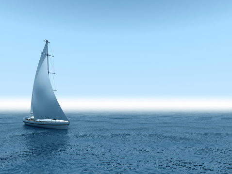 Recreational Boat「Yacht sea.」:スマホ壁紙(7)