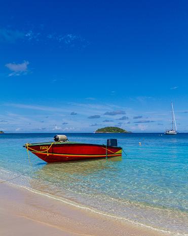 Salt Whistle Bay「Water Taxi, Mayreau」:スマホ壁紙(19)
