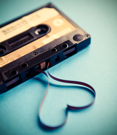 Heart「Audio cassette」:スマホ壁紙(16)