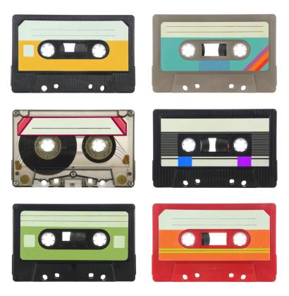 1980-1989「Audio cassettes」:スマホ壁紙(16)