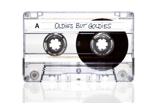 Rock Music「Audio Cassette. Oldies but Goldies」:スマホ壁紙(0)