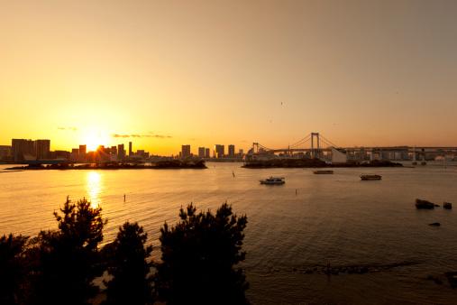 Tokyo Tower「tokyo bay sunset」:スマホ壁紙(10)