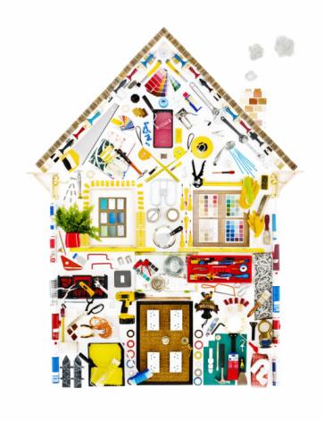 Front Door「DIY objects in shape of house」:スマホ壁紙(18)