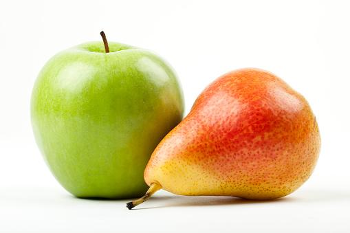 Pear「green apple and red pear」:スマホ壁紙(9)