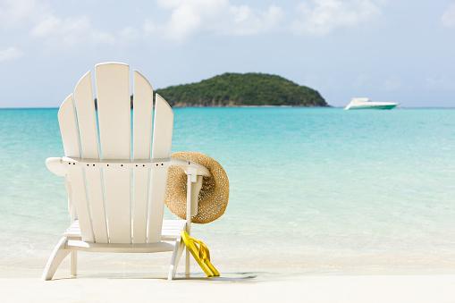 Flip-Flop「inviting chair on a tropical beach」:スマホ壁紙(3)