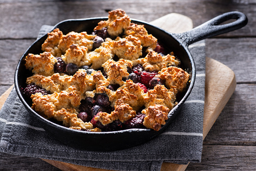 Southern Food「Berry Cobbler」:スマホ壁紙(8)