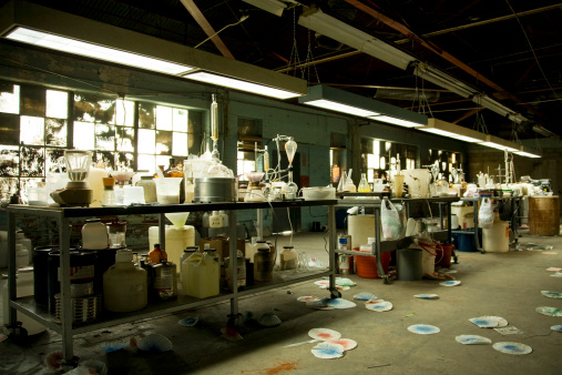 Chemical「Illegal Meth Lab With Equipment Everywhere」:スマホ壁紙(8)