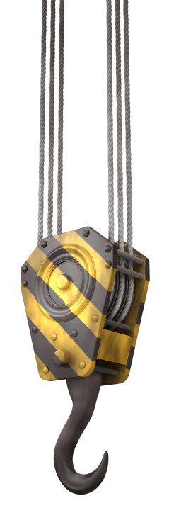 Steel Cable「Crane hook」:スマホ壁紙(18)