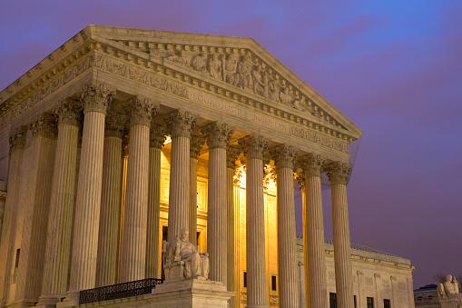 Supreme Court「United States Supreme Court at Twilight」:スマホ壁紙(11)