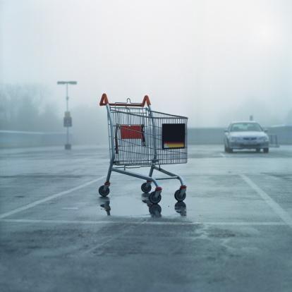 Square - Composition「Cart park」:スマホ壁紙(4)