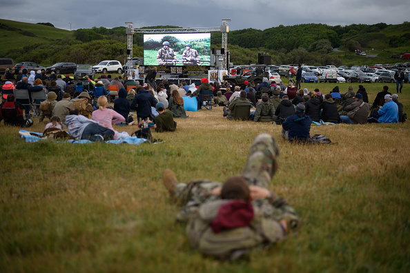 Outdoors「US Vets And Families Commemorate D-Day 75th Anniversary In Normandy」:写真・画像(0)[壁紙.com]