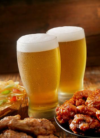 Chicken Wing「Beer and Wings」:スマホ壁紙(10)