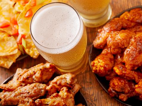 Chicken Wing「Beer and Wings」:スマホ壁紙(3)
