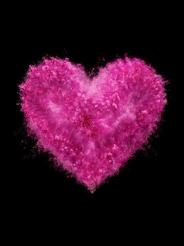 Heart「Heat Shaped Powder Explosion」:スマホ壁紙(4)