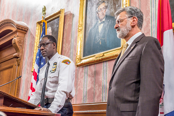 Cleveland - Ohio「Cleveland Mayor And Police Chief React To Grand Jury Decision In Tamir Rice Case」:写真・画像(11)[壁紙.com]