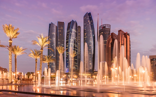 Tall - High「Abu Dhabi, the Etihad Towers.」:スマホ壁紙(9)