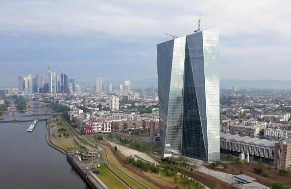 Viewpoint「European Central Bank And Frankfurt Financial District」:写真・画像(18)[壁紙.com]
