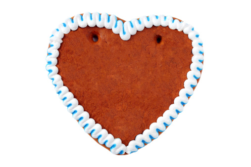 Gingerbread Cookie「A gingerbread cookie in the shape of a heart」:スマホ壁紙(11)