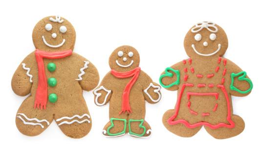 Gingerbread Cookie「Gingerbread Family」:スマホ壁紙(11)