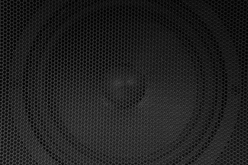 Black Color「Speaker grille」:スマホ壁紙(16)