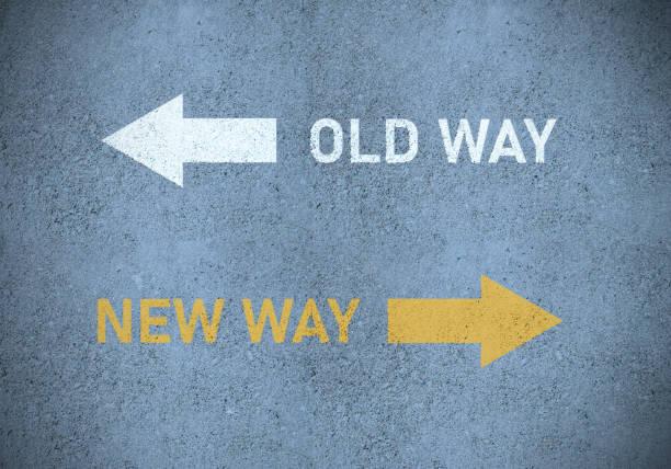 Old way or new way (in yellow) roadmarking:スマホ壁紙(壁紙.com)