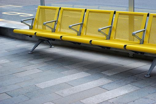 Bus Stop「Waiting chair at the bus stop」:スマホ壁紙(12)