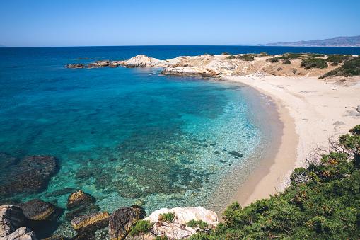 Greek Islands「Idyllic Remote Beach In Naxos」:スマホ壁紙(3)