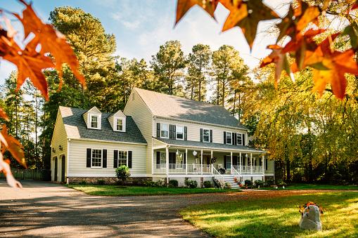Mid-Atlantic - USA「Colonial Style House」:スマホ壁紙(14)