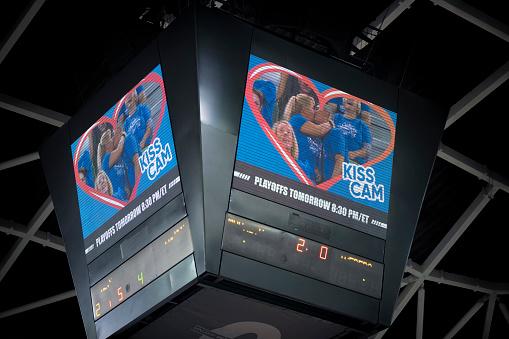 Stadium「Basketball scoreboards」:スマホ壁紙(3)